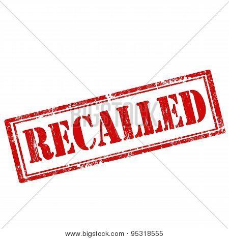 Recalled-stamp