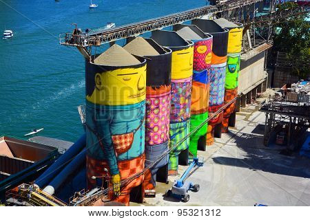 Ocean Concrete mural