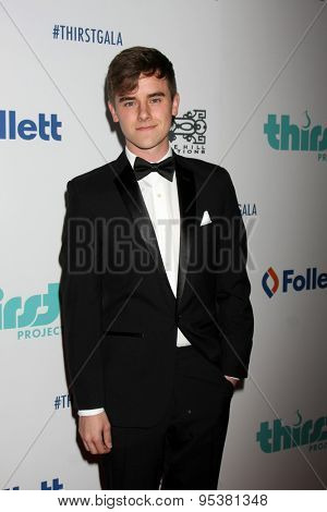 LOS ANGELES - JUN 30:  Connor Franta at the 6th Annual Thirst Gala at the Beverly Hilton Hotel on June 30, 2015 in Beverly Hills, CA