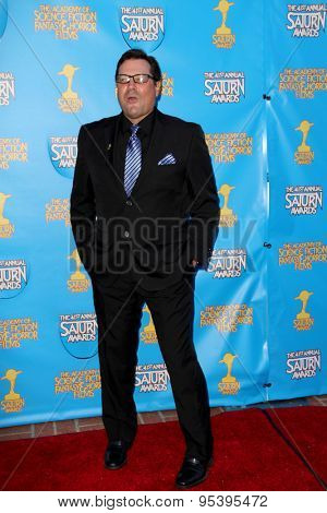 BURBANK - JUNE 25: Jeff Rector arrives at the 41st Annual Saturn Awards on Thursday, June 25, 2015 at the Castaway Restaurant in Burbank, CA.