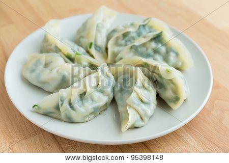 Steamed Chinese dumpling