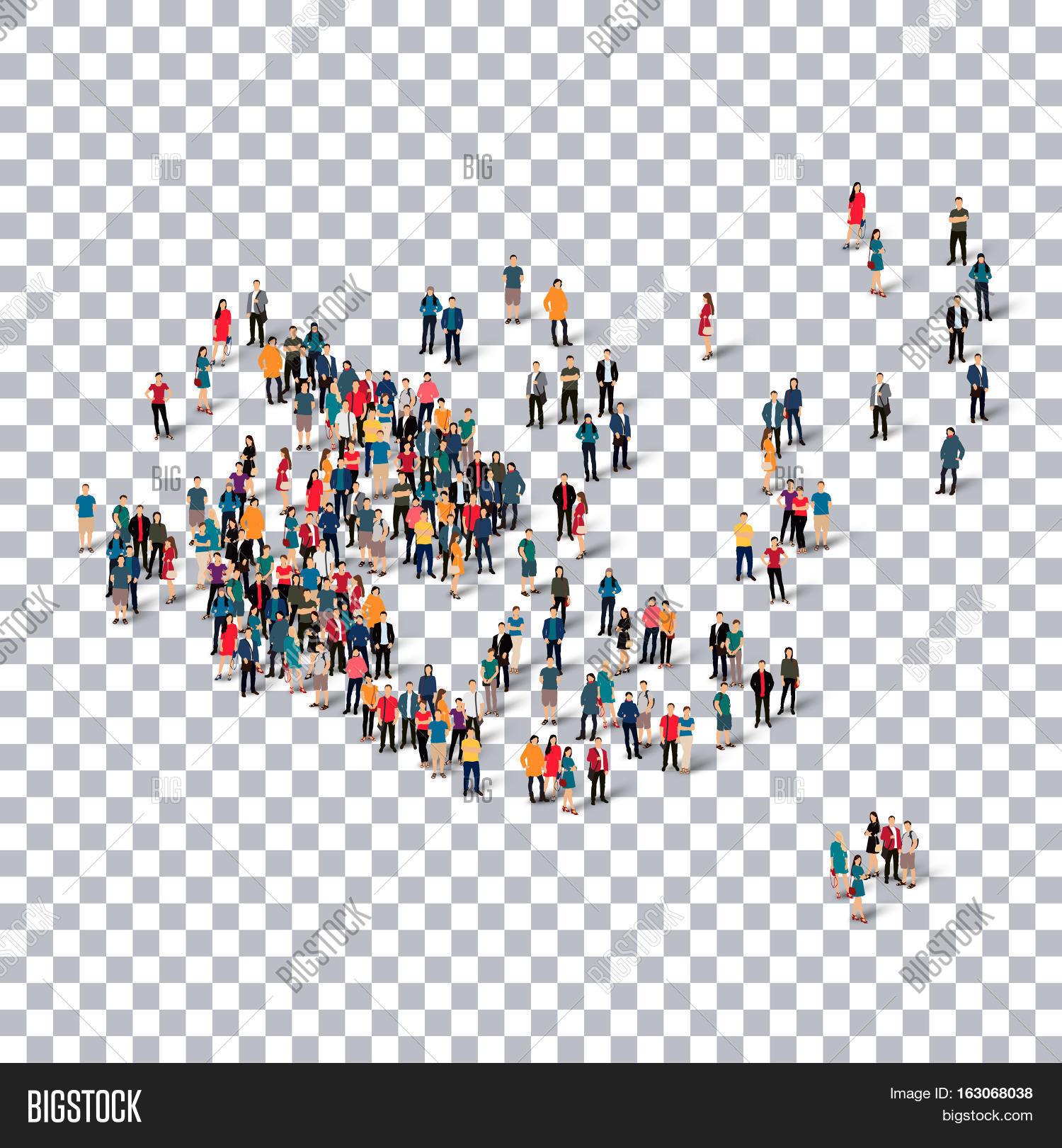 Isometric Set Styles People Map Image Photo Bigstock