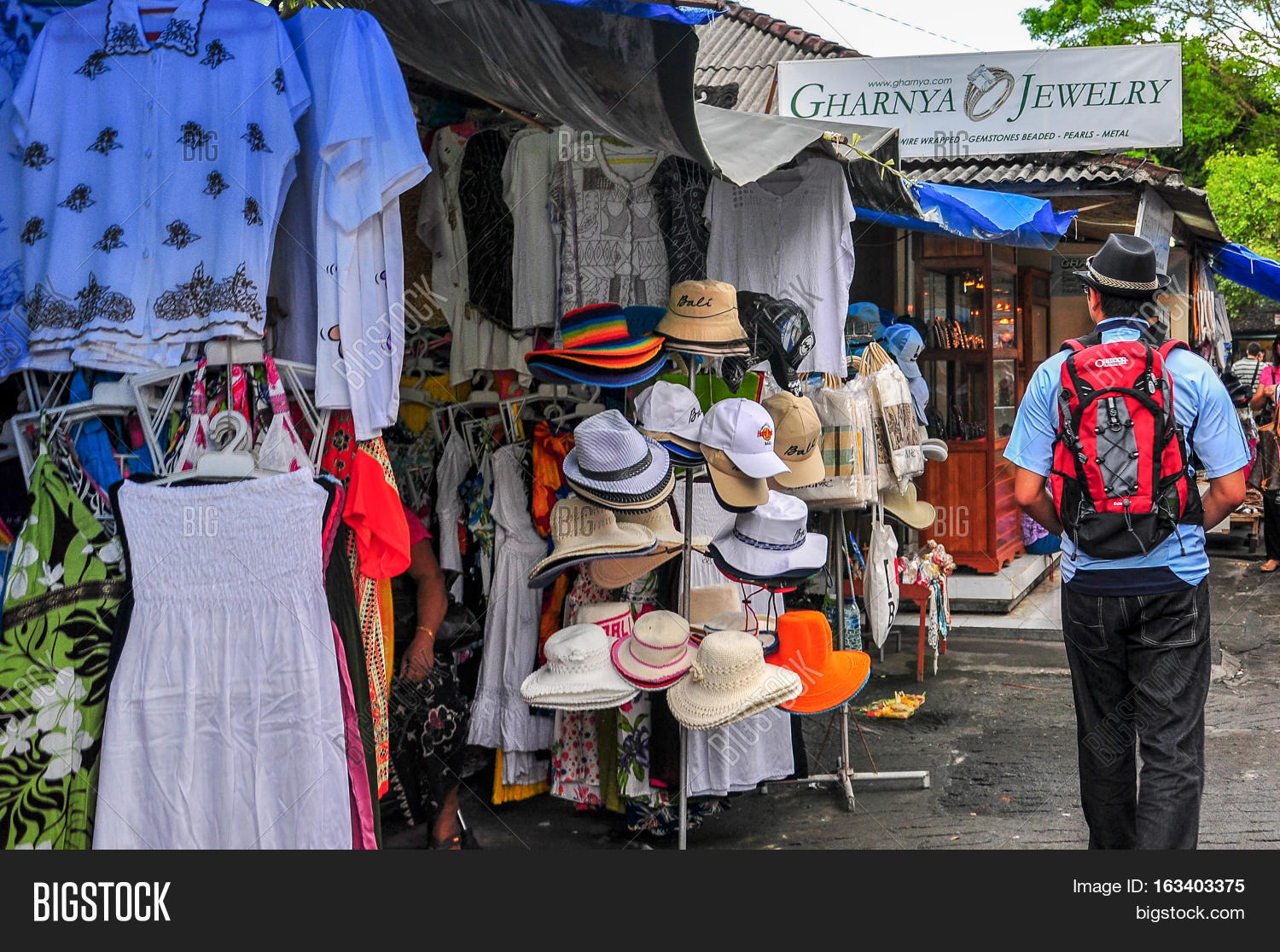 Baliindonesia May 28 Image Photo Free Trial Bigstock Balinese Traditional Market 282010market Stall With Colorful Indigenous Clothes