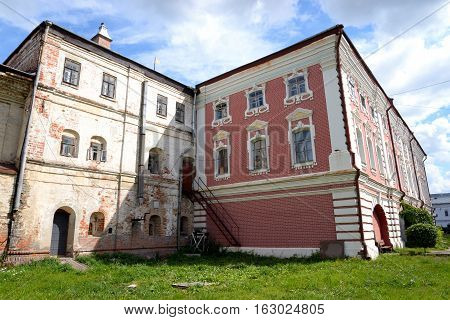 Old Bishops yard in Vologda City Russia.