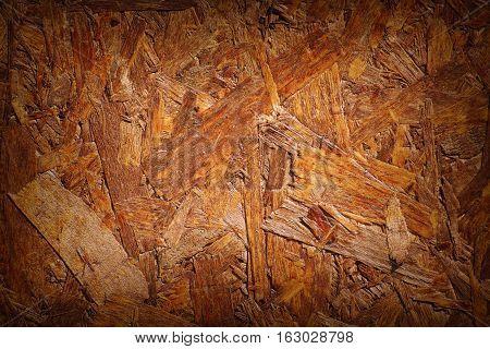 Image of Background of Pressed Wood Shavings