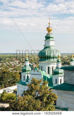 Trinity Cathedral in Chernihiv Chernihivska oblast Ukraine.