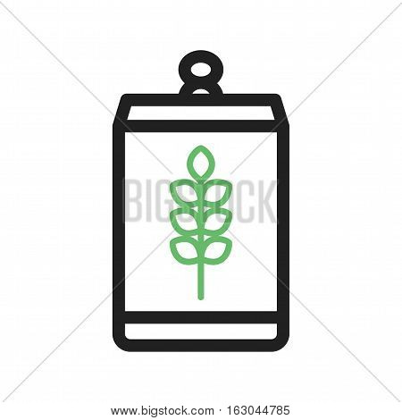 Beer, can, oktoberfest icon vector image. Can also be used for oktoberfest. Suitable for use on web apps, mobile apps and print media.