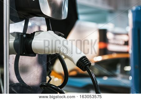 charging station for electric cars vehicle urban
