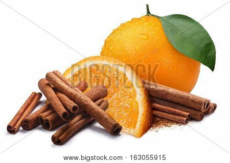 Orange With Cinnamon Sticks, Paths