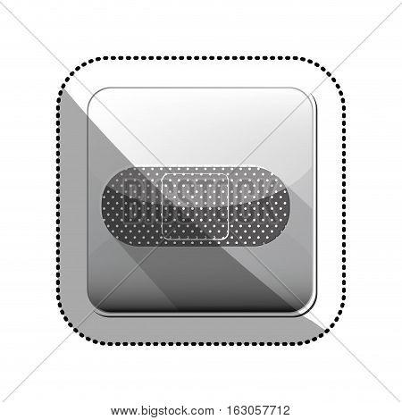 Bandage icon. Medical heath care and hospital theme. Isolated design. Vector illustration
