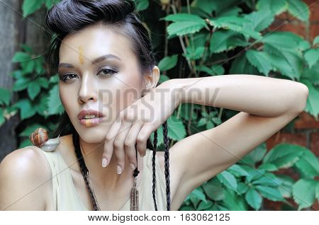 Beautiful Model With Well-groomed Skin
