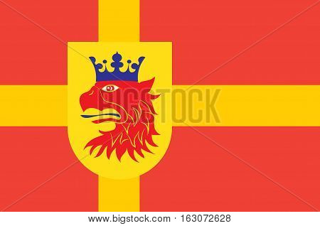 Flag of Scania is the southernmost province of Sweden
