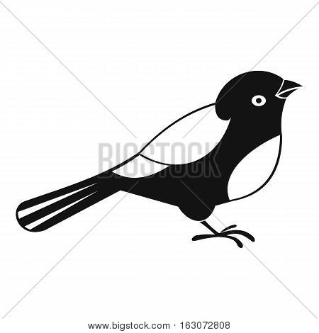 Bird icon. Simple illustration of bird vector icon for web