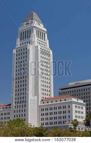 Los Angeles USA -July 22011: Historic County Courthouse building of Los Angeles California.