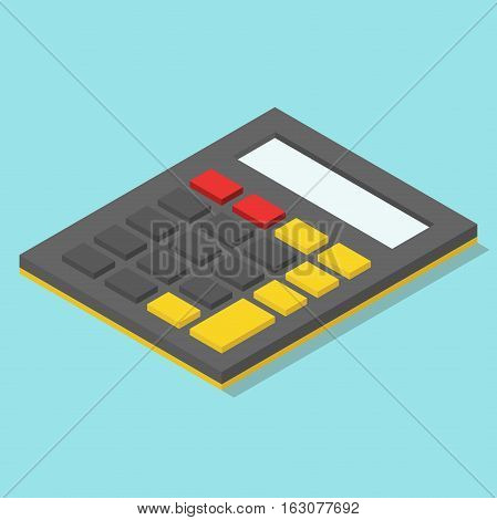 Isometric Calculator Without Numbers