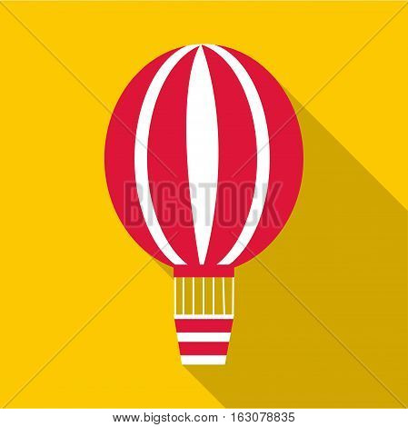 Balloon icon. Flat illustration of balloon vector icon for web