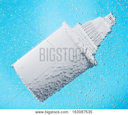 filter for water purification in air bubbles