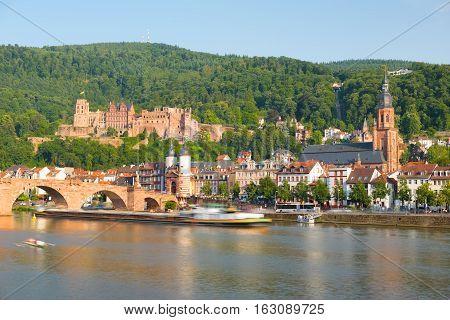 Heidelberg In A Summer Day