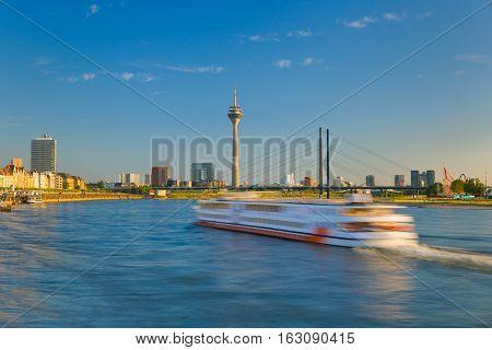 Cityscape Of Dusseldorf