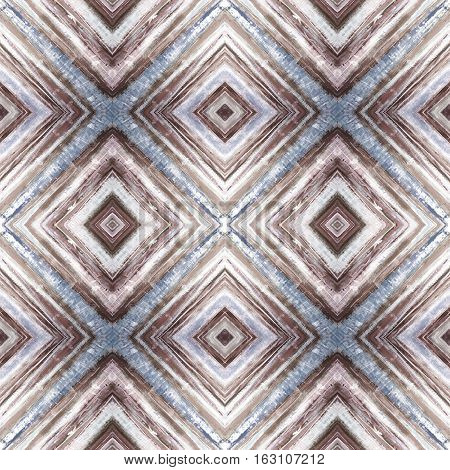 Rhombus abstract tribal seamless pattern. Modern stylish texture. Repeating geometric tiles with rhombus. Textile fabric print. Wrapping paper. Abstract continuous ornament for design and fashion.