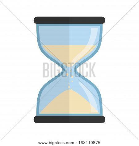 Time clock symbol icon vector illustration graphic design