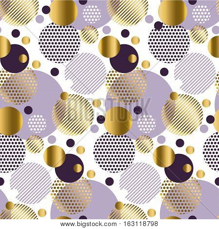 Xmas seamless dots modern pattern. white background geometry circle color seamless fabric sample. geometric pattern swatch vector illustration