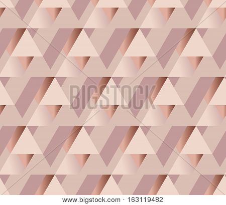 copper metal texture vector background. luxury festive surface backdrop. geometry metal shining background. rosy tender elegant abstract repeatable motif. pale color feminine wallpaper illustration. poster