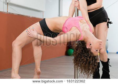 Pole Fitness Training