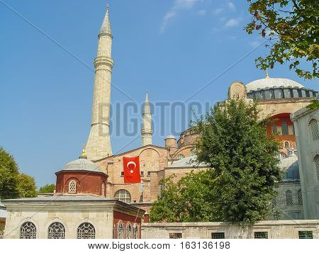 Aya Sofya, Now A Museum In Istanbul, Turkey