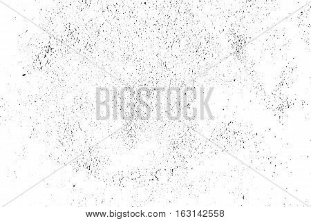 Vector grunge texture. Abstract grainy background, old painted wall. Overlay illustration over any design to create grungy vintage effect and depth. For posters, banners, retro and urban designs.