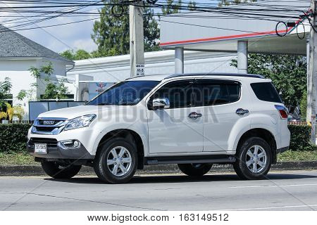 Private Suv Car, Isuzu Mu X, Mu-x.
