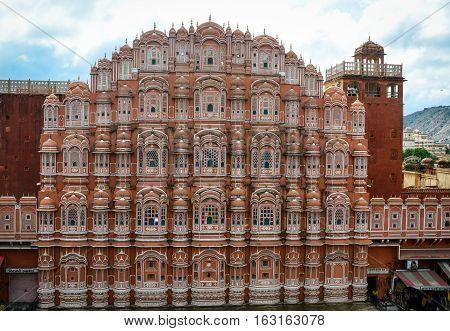 Hawa Mahal Palace In Jaipur, India
