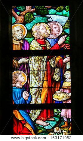 Stained Glass - Feeding The Multitude