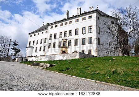 Park and Castle Usov, Moravia, Czech Republic, Europe