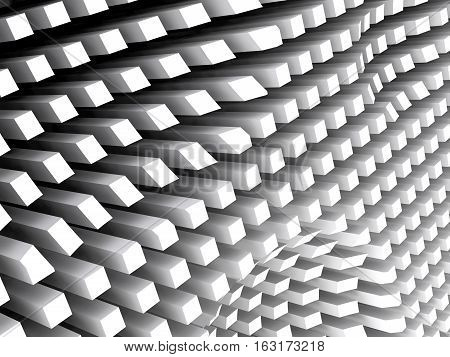 Abstract 3D  Digital Background Pattern