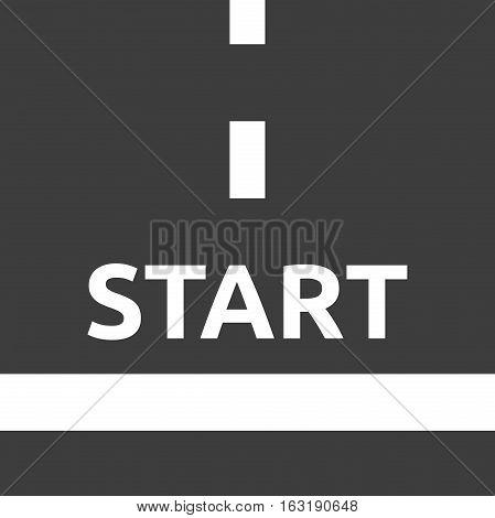 Start Line, Top View