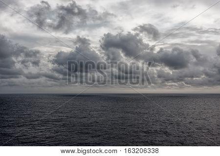 The Atlantic Ocean at Manasquan Beach New Jersey