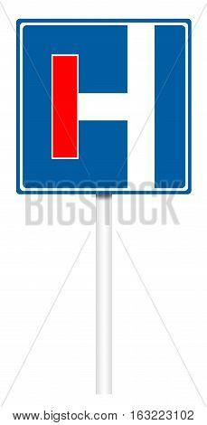 Informative Traffic Sign - Dead End
