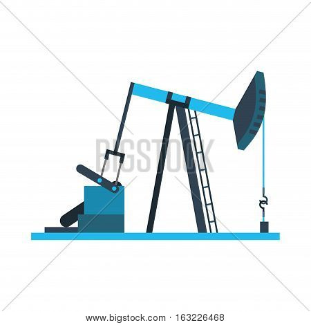 Refining plant isolated icon vector illustration design
