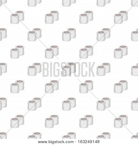 Tennis wristbands pattern. Cartoon illustration of tennis wristbands vector pattern for web