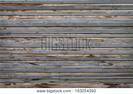 background texture old fence from wooden planks closeup