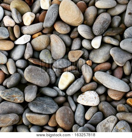 Stones which were founded on the Black sea coast