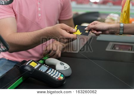 Paying With Credit Card For Purchases