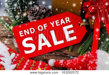 End of Year Sale Promotion and Discount
