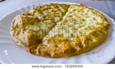 Traditional Bulgarian Bread Called Parlenka