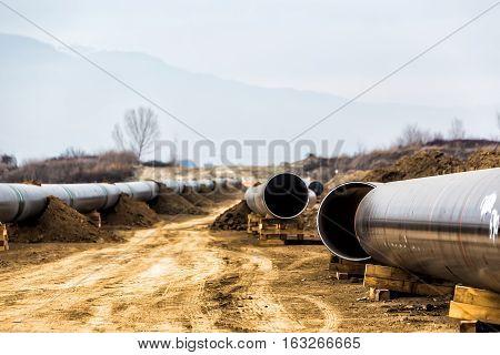 Construction Of Gas Pipeline Trans Adriatic Pipeline - Tap