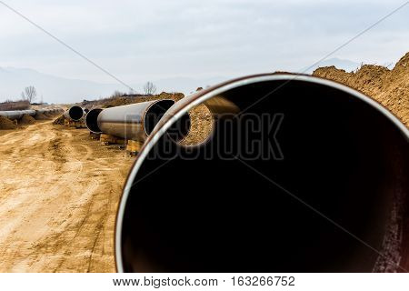 Construction Of Gas Pipeline Trans Adriatic Pipeline - Tap