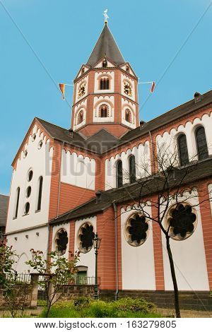 Church St. Margareta in Gerresheim district, Dusseldorf, Germany