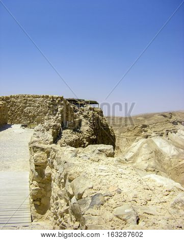 Negev Desert - View Of Masada