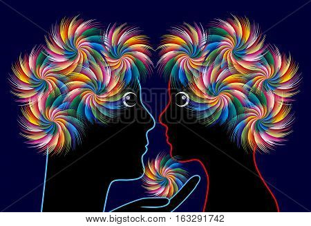 Meet your Twin Flame. The secrets soulmate couple share